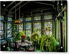 Glensheen Mansion Breakfast Room Acrylic Print by Paul Freidlund