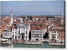 Glorious Venice Acrylic Print by Terence Davis