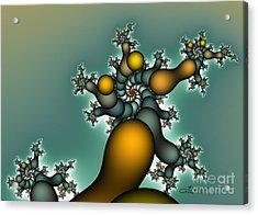Gnarly Tree Acrylic Print by Jutta Maria Pusl
