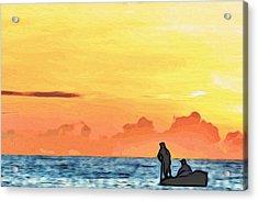 Go Fishing Acrylic Print by Alexandre Ivanov