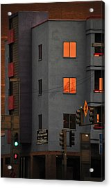 Go Acrylic Print by Skip Hunt