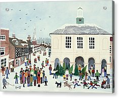 Godalming    Surrey Acrylic Print by Judy Joel