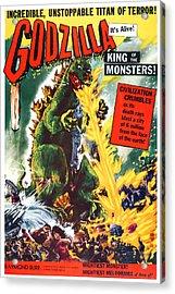 Godzilla, King Of The Monsters, Aka Acrylic Print by Everett