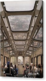 Going Down Acrylic Print by Richard Rizzo