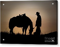 Going Home Acrylic Print by Sandra Bronstein
