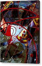Going Inward Acrylic Print by Stephen Lucas