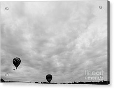 Going To The Clouds  Acrylic Print by Victory  Designs