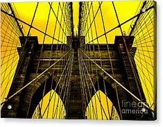 Golden Arches Acrylic Print by Az Jackson