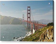 Golden Gate Bridge Acrylic Print by Ian Morrison