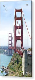 Golden Gate Bridge Acrylic Print by Mike McGlothlen