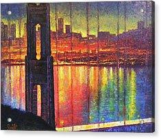 Golden Gate Bridge Acrylic Print by Raffi Jacobian