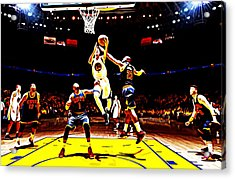 Golden State Warriors Shaun Livingston Acrylic Print by Brian Reaves