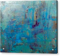 Goldnblue#46 Acrylic Print by Pearse Gilmore