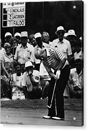 Golf Pro Jack Nicklaus, August, 1984 Acrylic Print by Everett