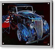 Gone To Iraq Acrylic Print by Mike Hill