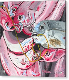 Good Catch Acrylic Print by Chelle Fazal
