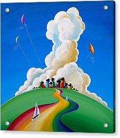 Good Day Sunshine Acrylic Print by Cindy Thornton