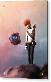 Goodkid Acrylic Print by Jamie Fox