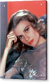 Grace Kelly Acrylic Print by American School