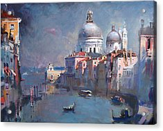 Grand Canal Venice Acrylic Print by Ylli Haruni
