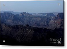 Grand Canyon At Dusk Acrylic Print by Erica Hanel