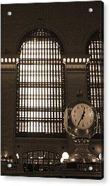 Grand Central Station Acrylic Print by Henri Irizarri