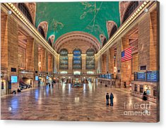 Grand Central Terminal V Acrylic Print by Clarence Holmes