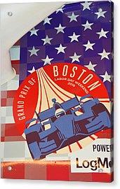 Grand Prix Of Boston Acrylic Print by Mike Martin