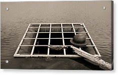 Grate Art Acrylic Print by Don Spenner