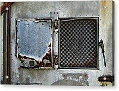 Grated Door Acrylic Print by Murray Bloom