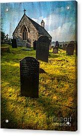 Grave Yard Acrylic Print by Adrian Evans