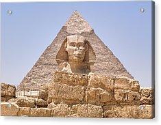 Great Sphinx Of Giza - Egypt Acrylic Print by Joana Kruse