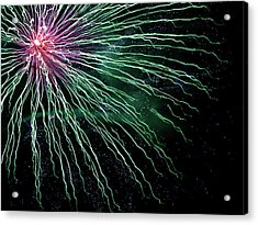 Green Independence Acrylic Print by Adam Long