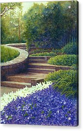 Gretchen's View At Cheekwood Acrylic Print by Janet King