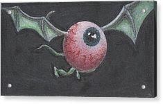 Griffin Eye  Acrylic Print by Erik Paul