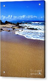 Gringo Beach Vieques Puerto Rico Acrylic Print by Thomas R Fletcher