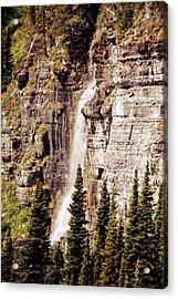 Gtts Waterfall Acrylic Print by Marty Koch