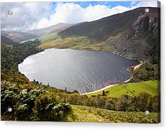 Guinness Lake In Wicklow Mountains  Ireland Acrylic Print by Semmick Photo