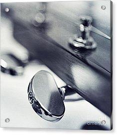 guitar I Acrylic Print by Priska Wettstein