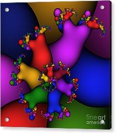 Gummy Bears 186 Acrylic Print by Rolf Bertram