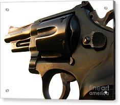 Gun Series Acrylic Print by Amanda Barcon
