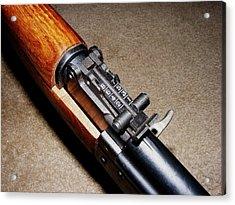 Gun - Sks - Close-up Acrylic Print by Anastasiya Malakhova
