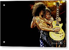 Guns N' Roses Collecton Acrylic Print by Marvin Blaine