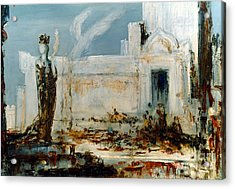 Gustave Moreau: Helene Acrylic Print by Granger