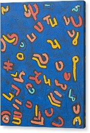 gy Acrylic Print by Radoslaw Zipper