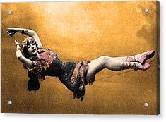 Gypsy Acrylic Print by Dana Vogel