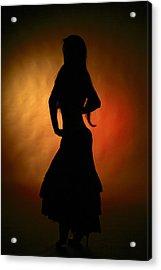 Gypsy Girl Acrylic Print by Naman Imagery