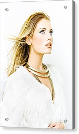Hair Style Acrylic Print by Jorgo Photography - Wall Art Gallery