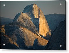 Half Dome At Sunset - Yosemite Acrylic Print by Stephen  Vecchiotti
