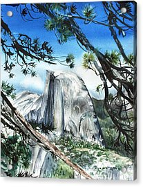 Half Dome In The Late Afternoon Acrylic Print by Kate Peper